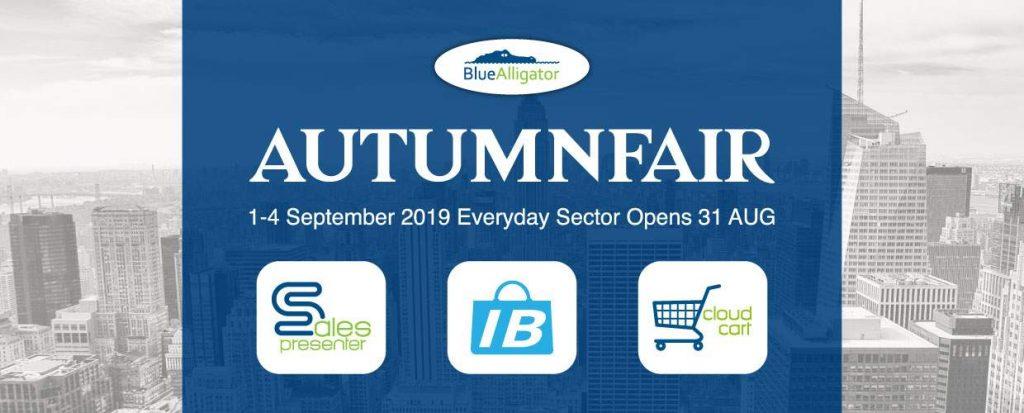 Blue Alligator are attending Autumn Fair 2019