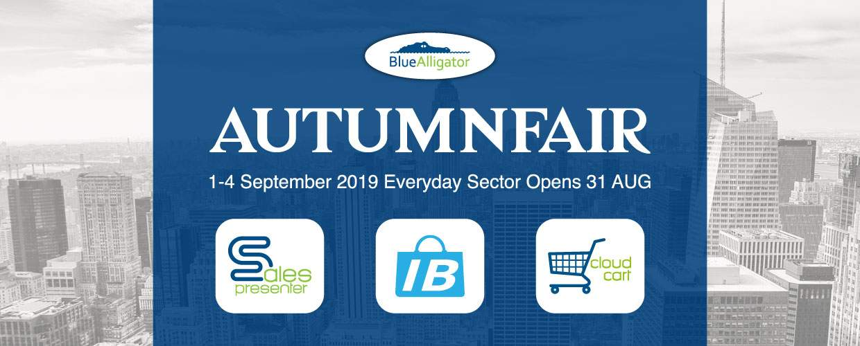 Blue Alligator are attending Autumn Fair 2019