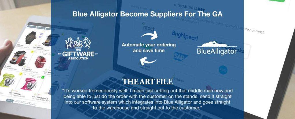 Blue Alligator have joined the giftware association