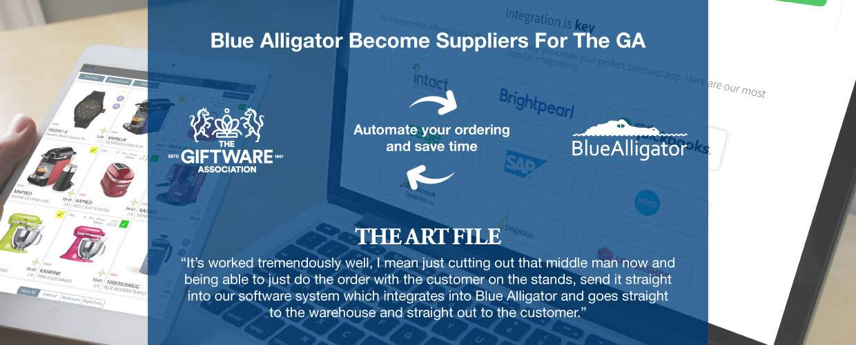 Blue Alligator have joined the giftware association