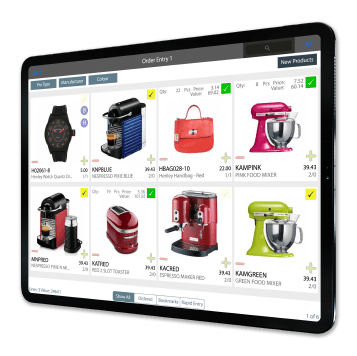 SalesPresenter - the market leading iPad sales application