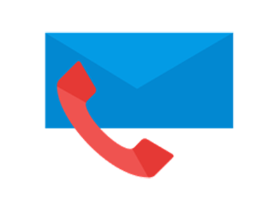 Blue Alligator mail icon