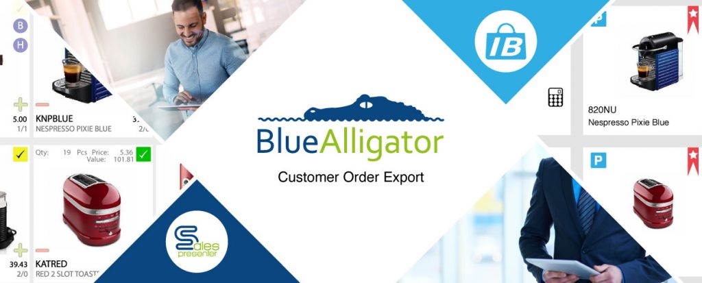 Customer order export